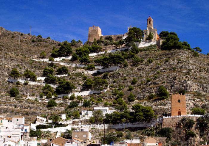 El Consell autoritza l'ampliació del pressupost per a l'obres d'emergència del castell de Cullera