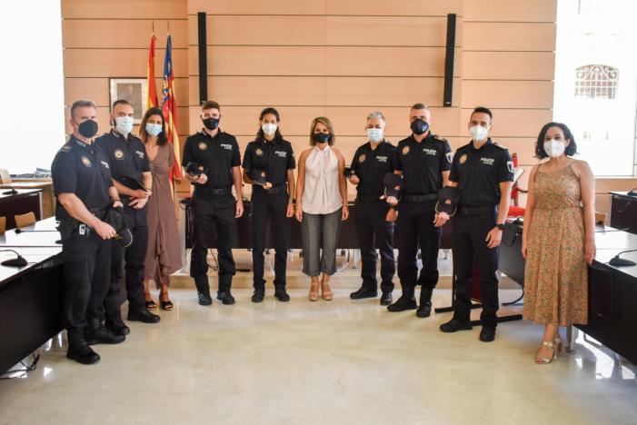 Alfafar incorpora 6 nous agents a la Policia Local
