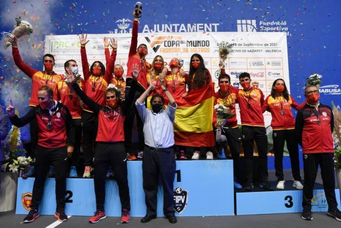 L'esportista d'Alcàntera de Xúquer Joan Pascual, nou campió del món de frontenis
