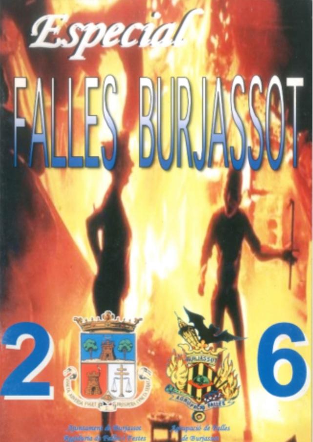 Ja es poden consultar, de manera digital en SAVEX, els llibres especials de Falles editats per l'Ajuntament de Burjassot