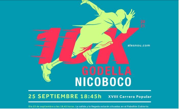 La 10K Godella Nicoboco torna el dissabte, 25 de setembre