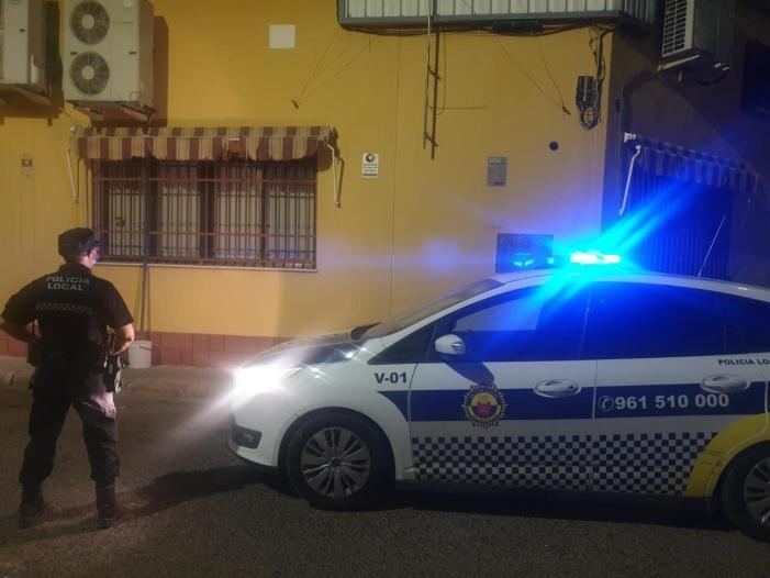 La Policia Local d'Alaquàs va frustrar el passat cap de setmana un intent de robatori al polígon industrial del Bovala