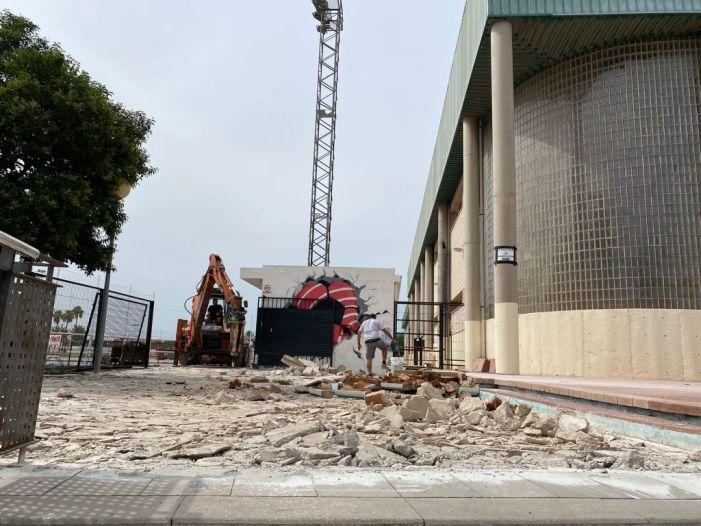 Benifaió inicia les obres de millora d'accessibilitat al pavelló municipal i poliesportiu