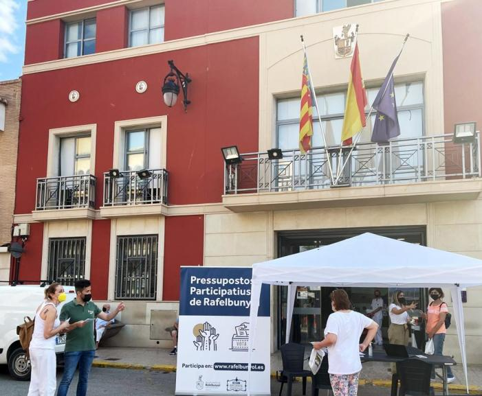 Rafelbunyol decideix les propostes a executar dins dels Pressupostos Participatius Socials 2021-2022