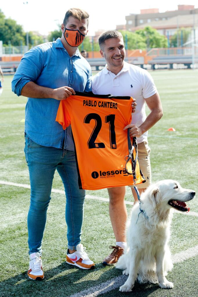 Pablo Cantero torna a la seua casa per a fer el servei d'honor en el primer partit com a local del Torrent CF