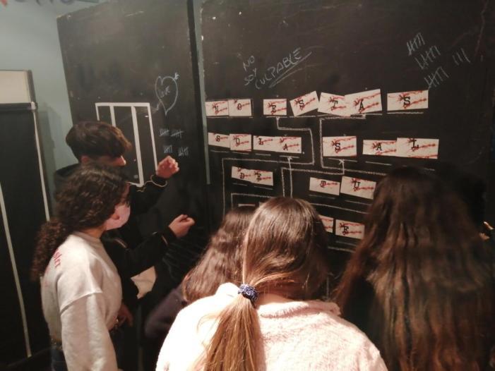 L'Ajuntament d'Alaquàs, a través del departament de Joventut, ha creat una Escape Room