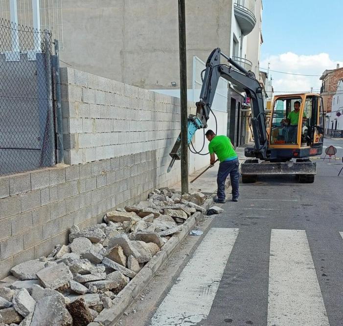 Càrcer inverteix 100.000 euros en la renovació de la seua xarxa d'aigua potable