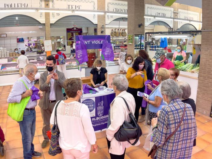 Comerços d'Alboraia contra la Violència de Gènere