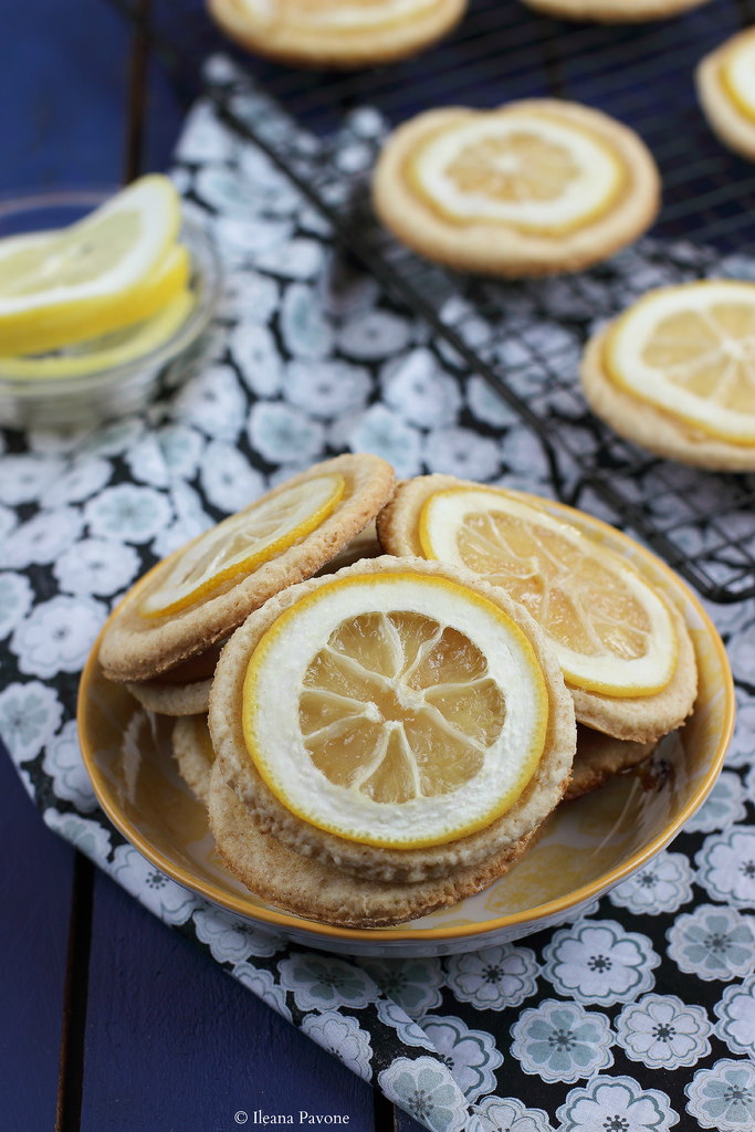 Biscotti al limone vegani