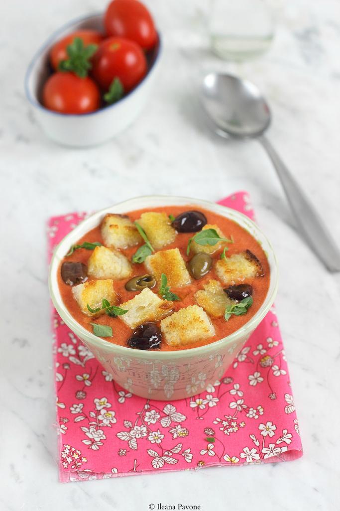 Gazpacho di anguria