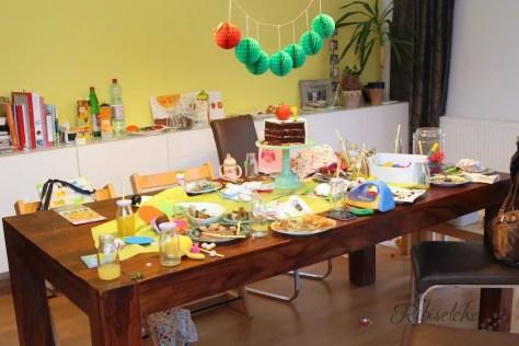 Raupe Nimmersatt Geburtstag