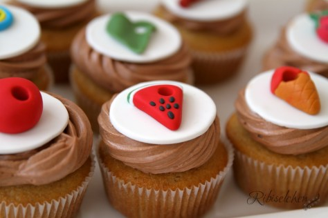 Raupe Nimmersatt Cupcakes