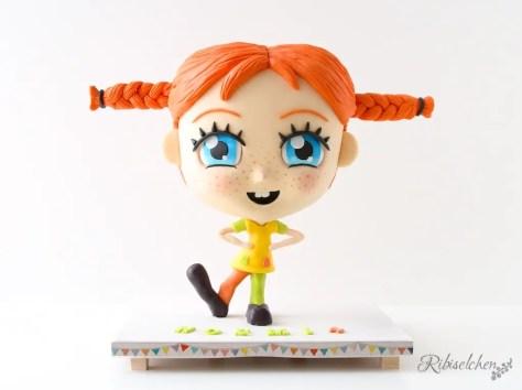 Pippi 3D-Torte