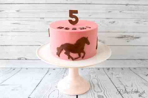 Pferdetorte Anleitung - Horse Cake