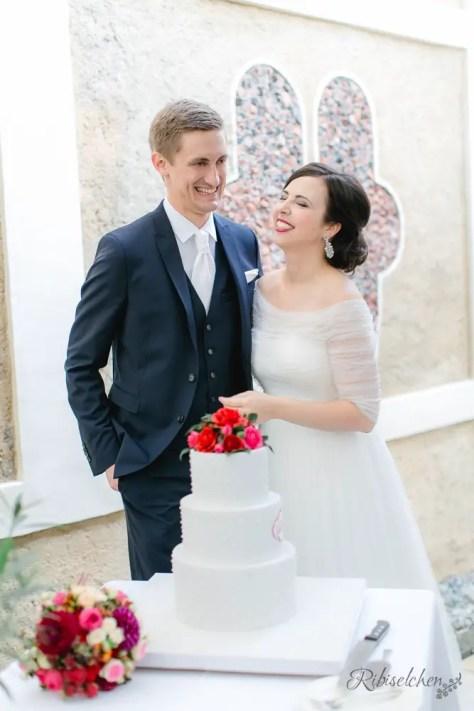 Hochzeitstorte Rosen 16