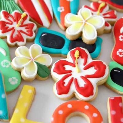 Hibiskus Kekse