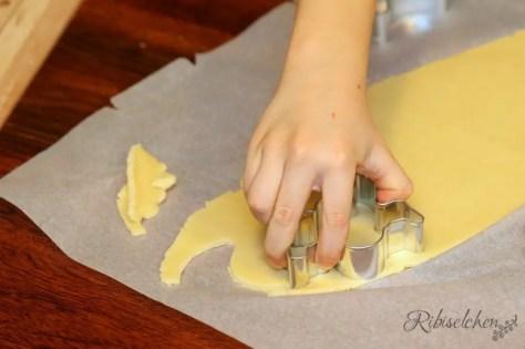 Kekse ausstechen