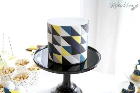 geometrische Torte