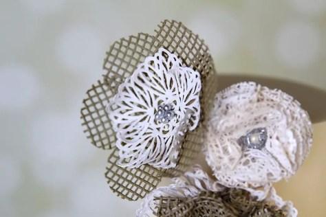 Lace flower Blume Spitze