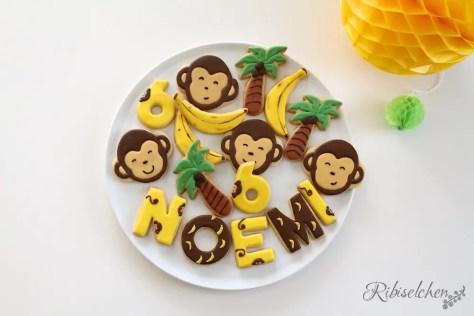 Kekse für die Dschungelparty Süßigkeiten