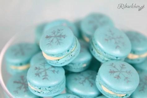 Eiskönigin Macarons