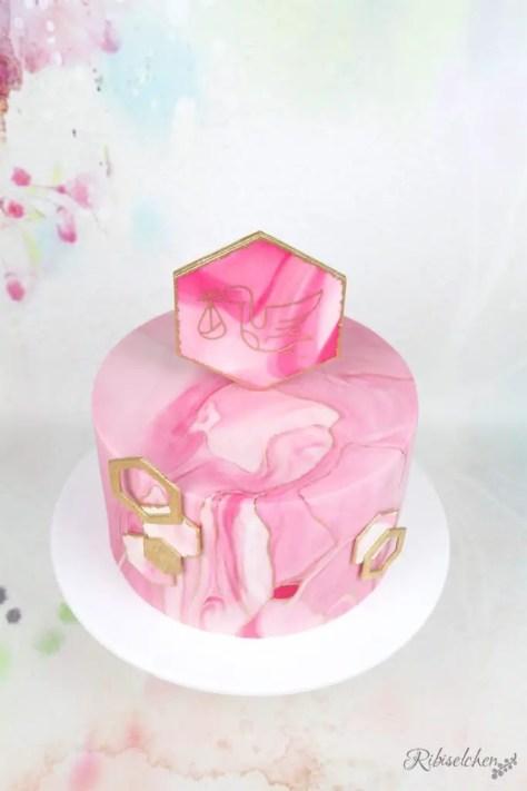 Babyparty Torte Mädchen