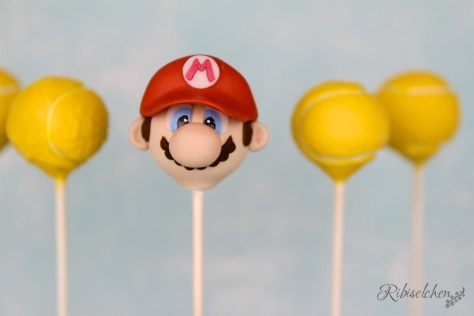 Super Mario und Tennis Cake Pops Tutorial