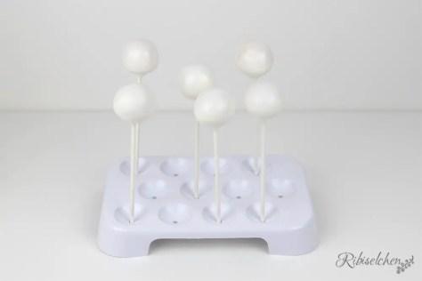 weiße Cake Pops