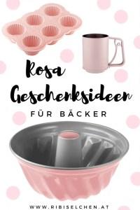Hier findest du die besten Geschenksideen für Bäcker in ROSA! Praktisches und wunderschönes Backzubehör für dich oder deine Lieben!