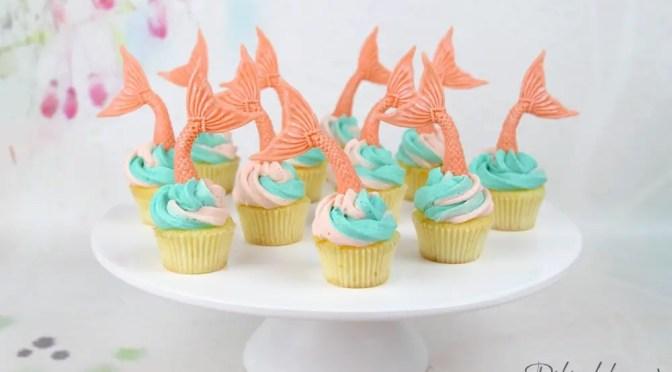 Meerjungfrauen Sweet Table: Cupcakes, Macarons, Cake Pops und Cookies!