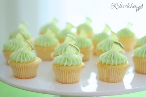 Tropische Party Cupcakes