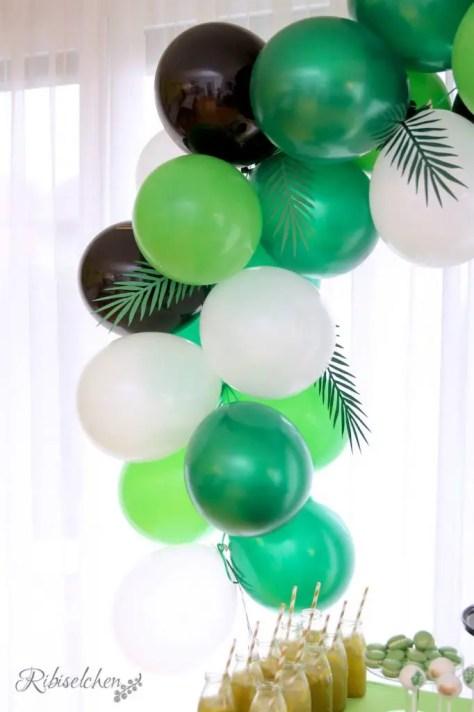 Tropische Party Luftballongirlande