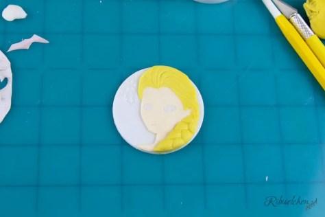 Eiskönigin Cupcakes Anleitung - Frozen Cupcakes
