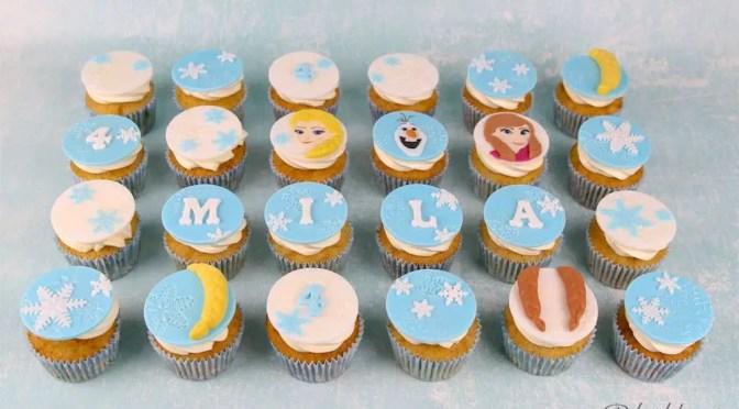 Eiskönigin Cupcakes