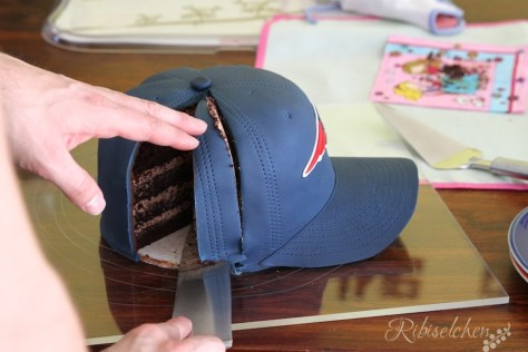 Kappe Torte Anleitung - Cap Cake