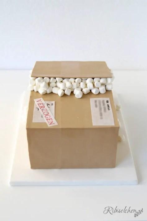 Pakettorte Anleitung - Package Cake Tutorial