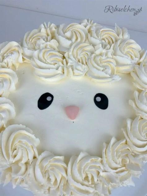 Schäfchen Torte Anleitung - Lamb Cake