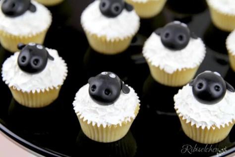 Schaf Cupcakes