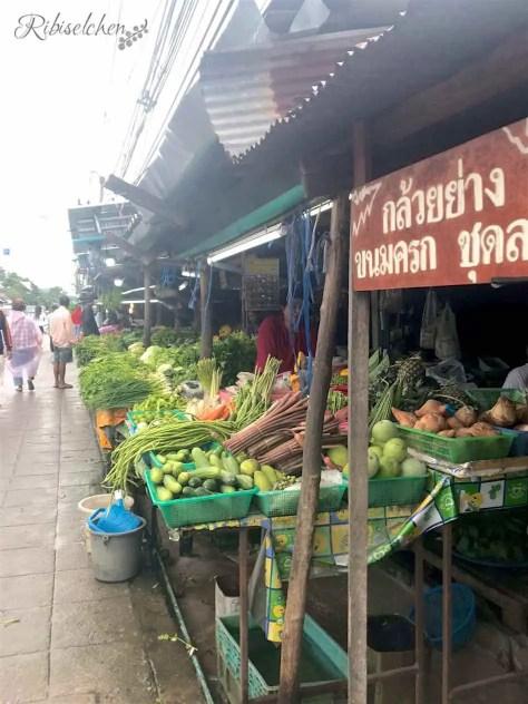 Strassenmärkte Koh Samui