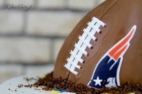 American Football Torte