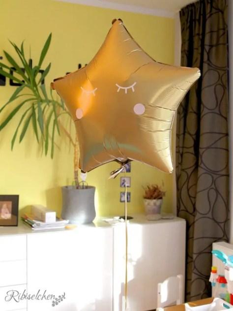 Heliumballon Pyjamaparty