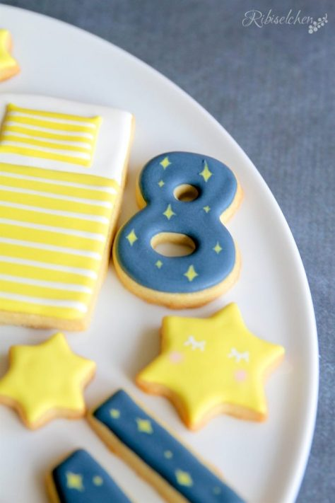 Übernachtungsparty Kekse