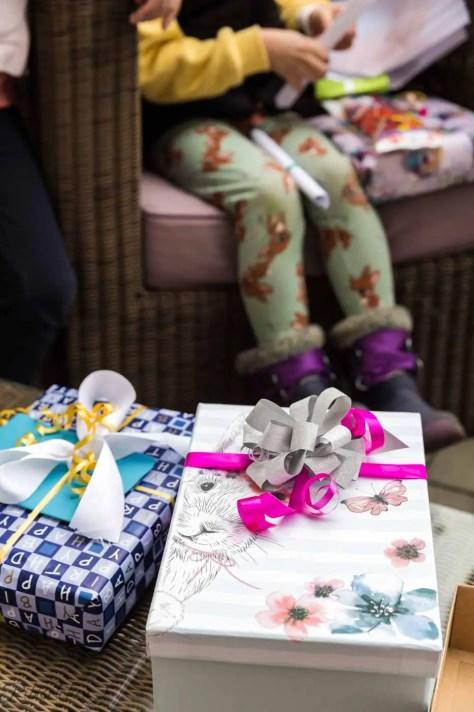 Geschenke für das Geburtstagskind