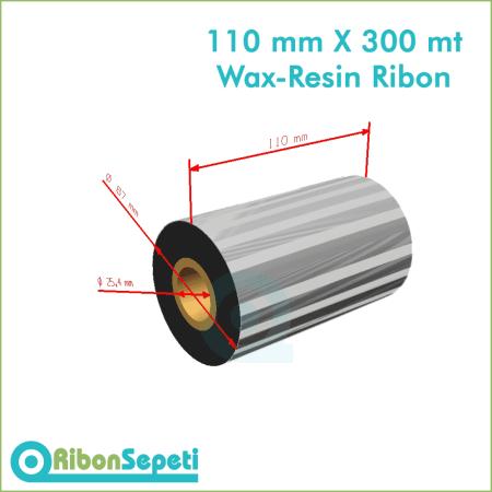 110 mm X 300 mt Wax-Resin Ribon Fiyatı (Online Satın Al)