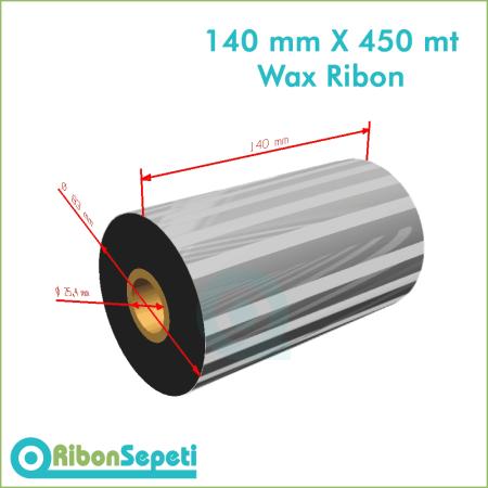 140 mm X 450 mt Wax Ribon (Online Satın Al)