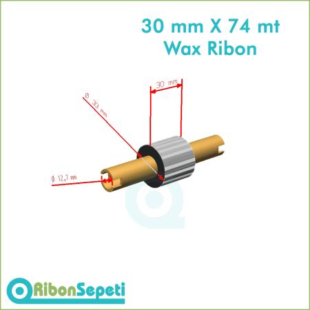 30 mm X 74 mt Wax Ribon Fiyatı (Online Satın Al)
