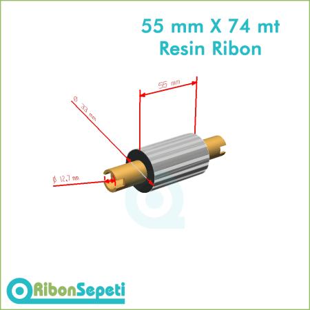 55 mm X 74 mt Resin Ribon Fiyatı (Online Satın Al)