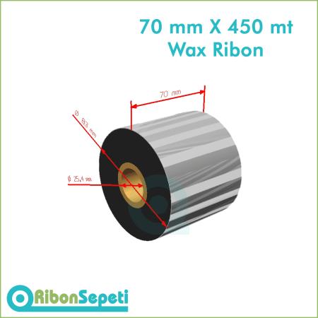 70 mm X 450 mt Wax Ribon (Online Satın Al)