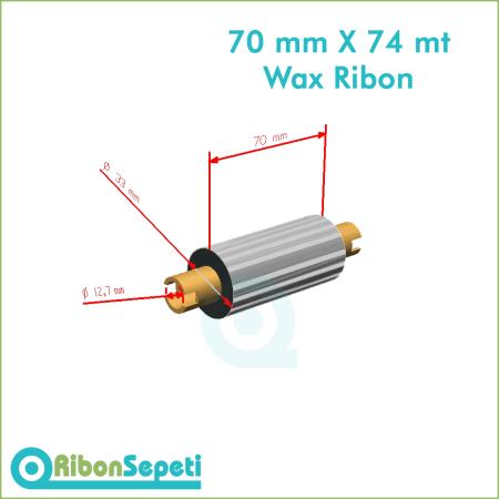 70 mm X 74 mt Wax Ribon Fiyatı (Online Satın Al)
