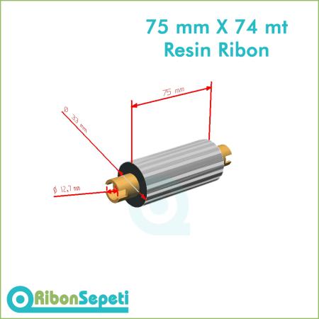 75 mm X 74 mt Resin Ribon Fiyatı (Online Satın Al)